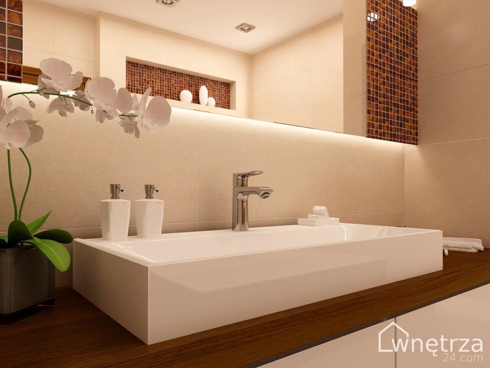 łazienki Wnetrza24com Gotowe Projekty Wnetrz