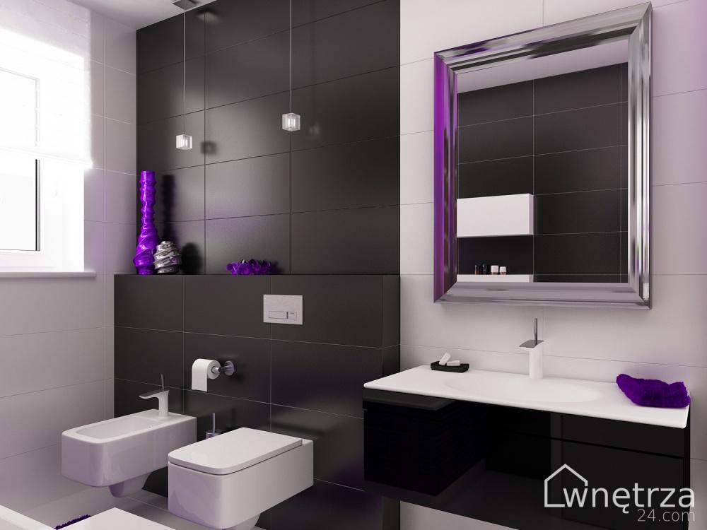 Projekt łazienki Ametyst łazienki Wnetrza24com Gotowe