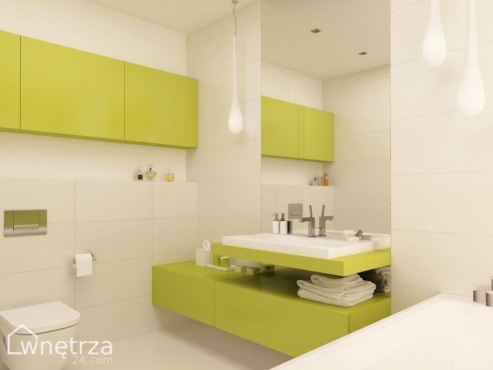 Projekt łazienki Nefryt łazienki Wnetrza24com Gotowe